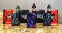 VooPoo Drags with Smok sub-tanks to match.